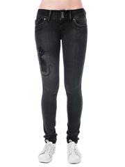 5558 джинсы женские, черные