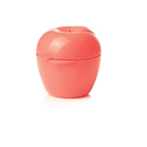 контейнер яблоко в коралловом цвете