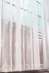 Микросетка с вышивкой Флоренция (кремовый)