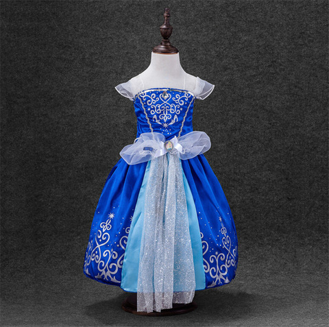 Платье карнавальное принцессы Золушки