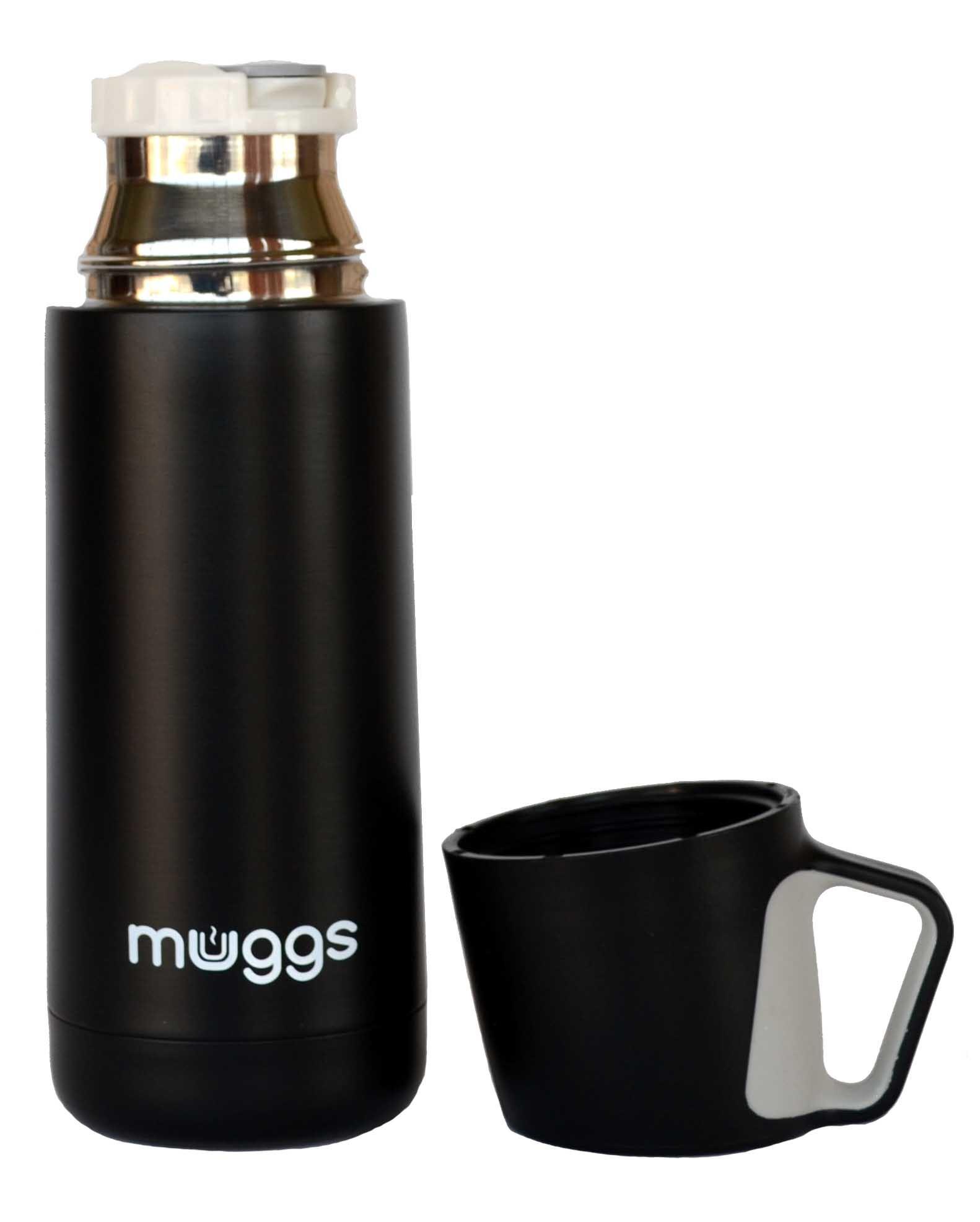 Термос Muggs Jazz 0,35 л. черный