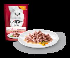 Gourmet мон Петит с Лососем в соусе 50 г