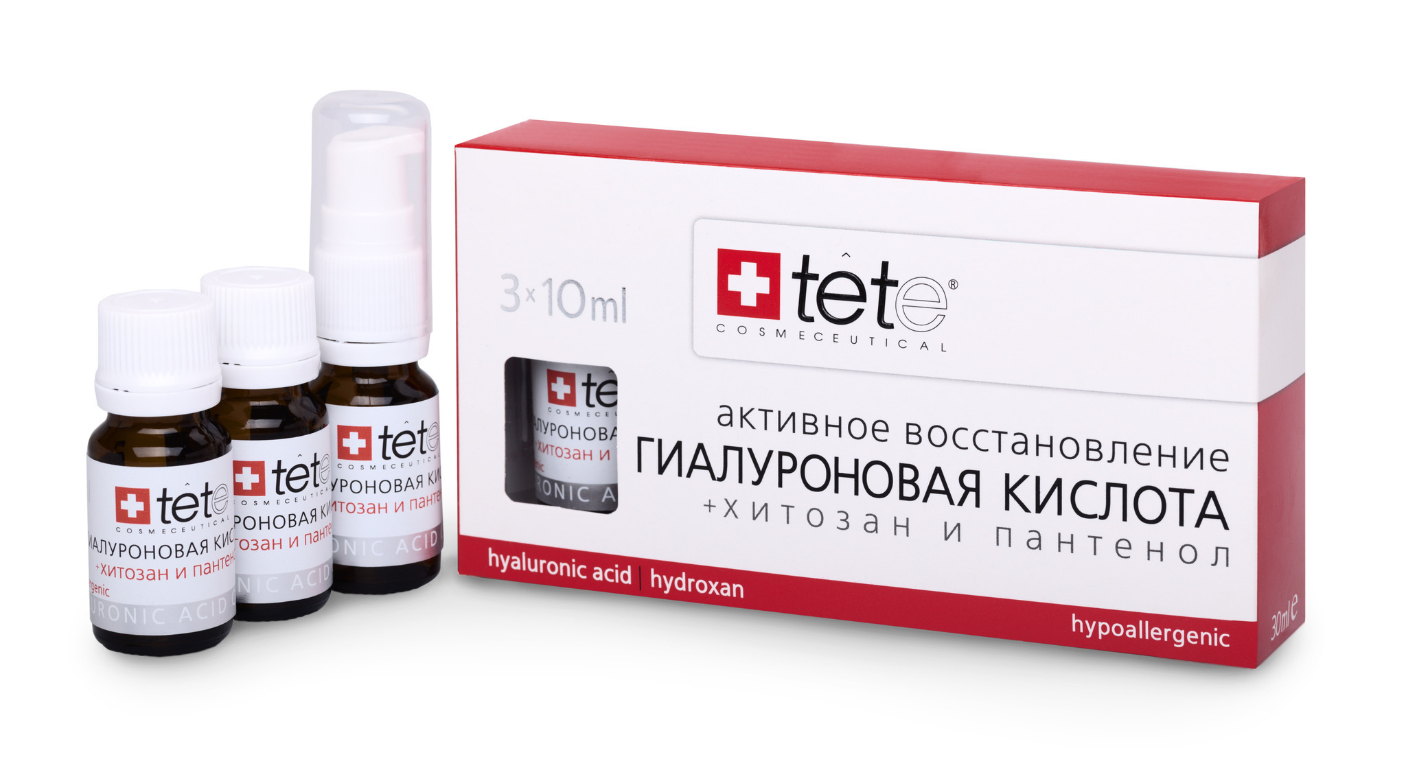 Гиалуроновая кислота + Хитозан / Hyaluronic acid & Hydroxan/Tete