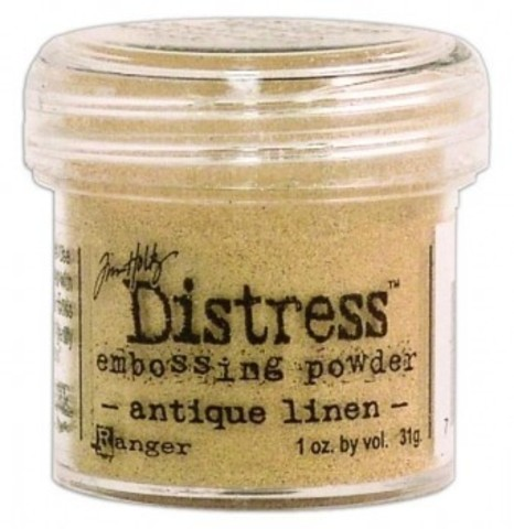 Пудра для эмбоссинга Tim Holtz® Distress Embossing Powders - antique linen