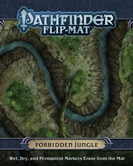 Pathfinder. Flip-Mat Forbidden Jungle