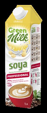 """Растительный напиток """"Green Milk Professional"""" соя 1000 мл"""