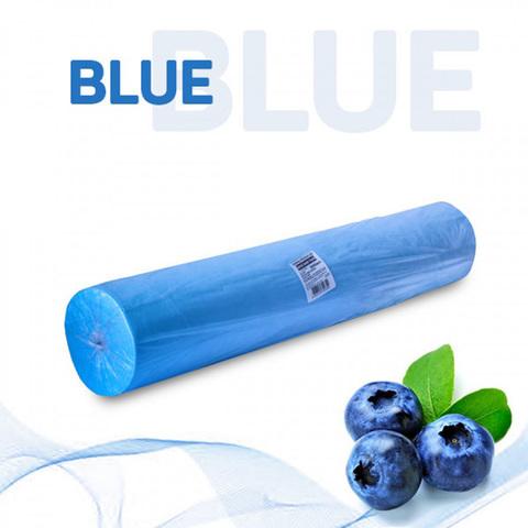 Одноразовые простыни Комфорт в рулоне голубые, СМС, 200х80см (100шт/уп)