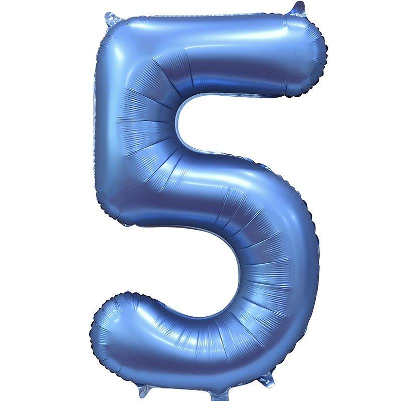 Шары цифры Шар цифра сатин 5 синяя satin_siniy_5.jpg