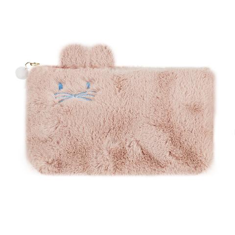 Пенал-косметичка Fluffy Pink