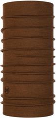 Шерстяной шарф-труба Buff Wool midweight Tundra Khaki Melange