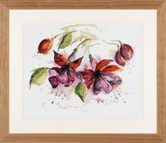 Lanarte Fucsia in Watercolour (Фуксия в акварели)