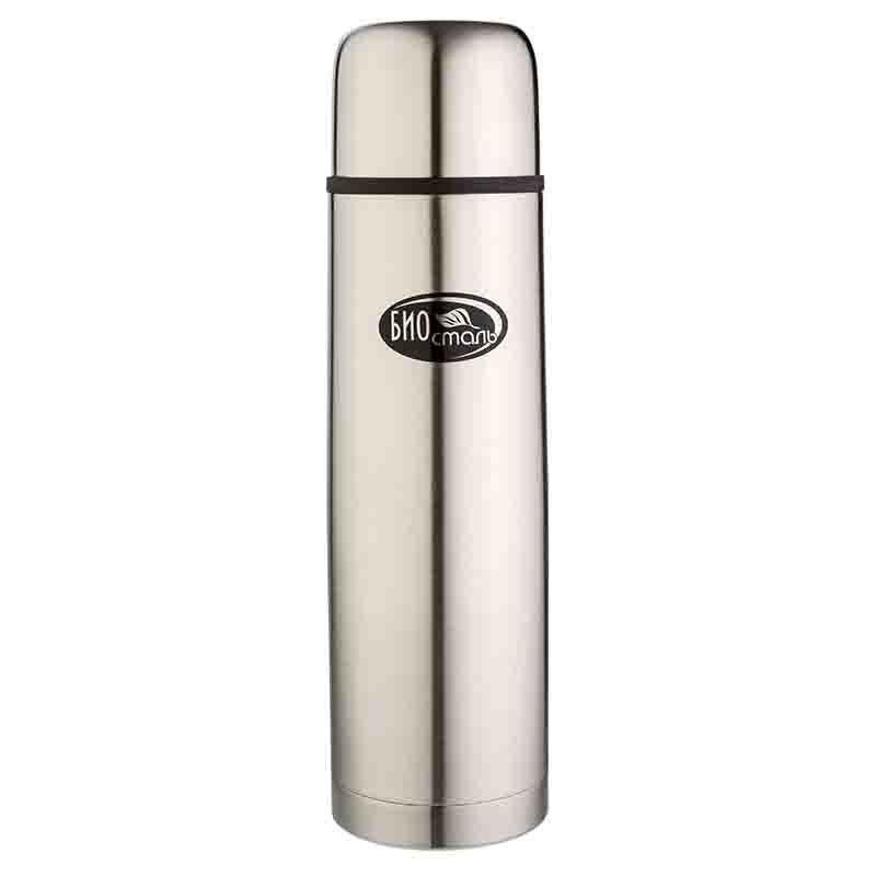 Термос Biostal (1 литр), стальной*
