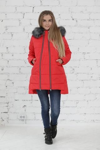Куртка 2в1 для беременных 10840 красный