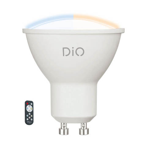 Лампа LED, СCT с изменением температуры цвета с пультом ДУ Eglo ACCESS LM-LED-GU10 1X5W 320Lm 2700-6500K  11802