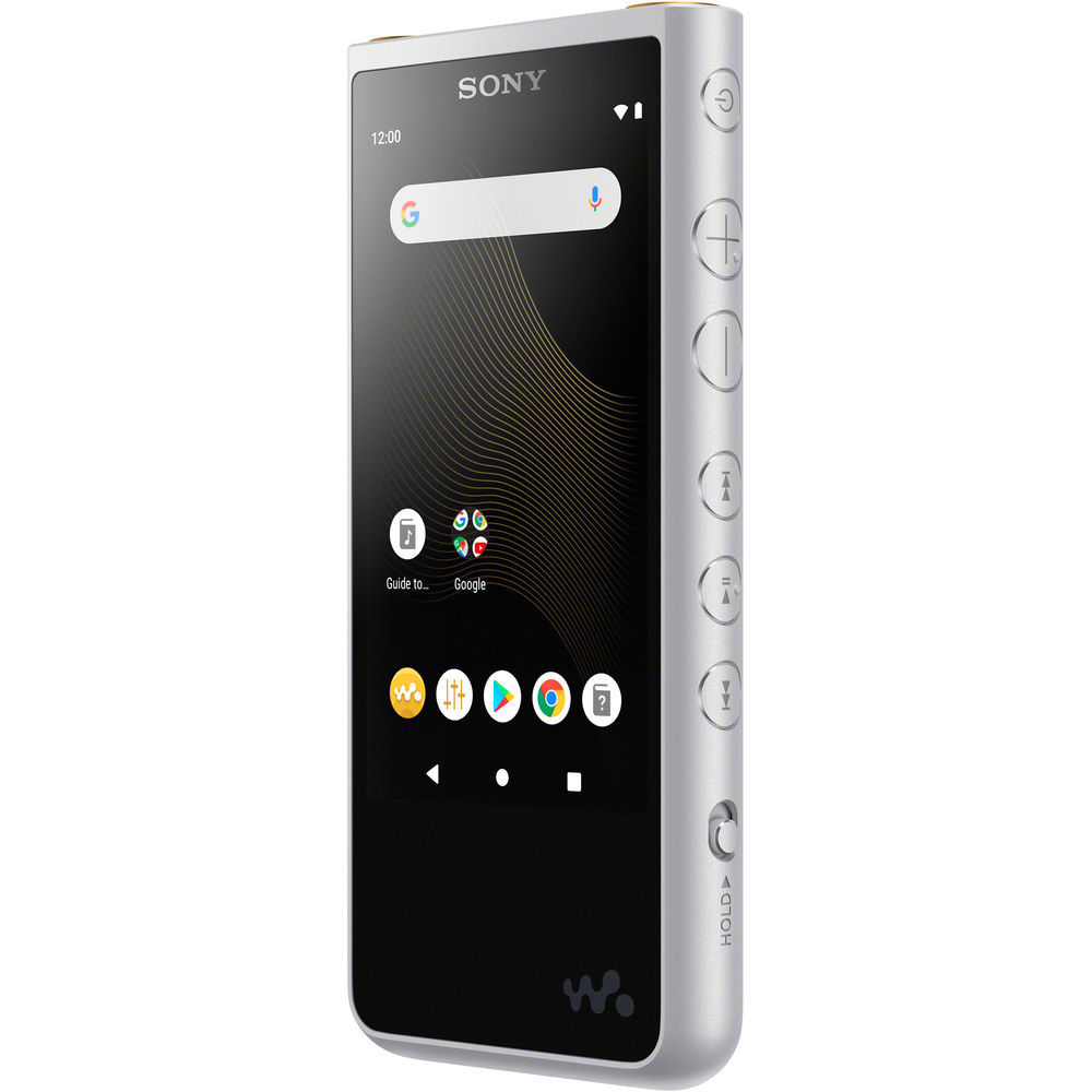 NW-ZX507S Hi-Res плеер Sony Walkman, цвет серебристый