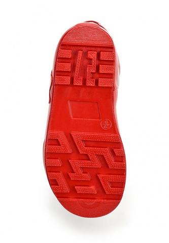Резиновые сапоги Минни Маус (Minnie Mouse) на шнурках для девочек, цвет черный красный. Изображение 7 из 8.