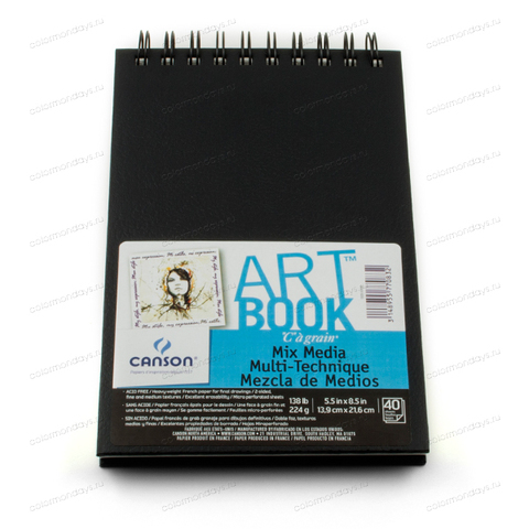 Скетчбук Art Book Mix Media 14x21.6