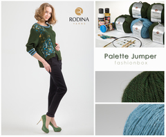 PALETTE JUMPER Fashionbox by Rodina Yarns