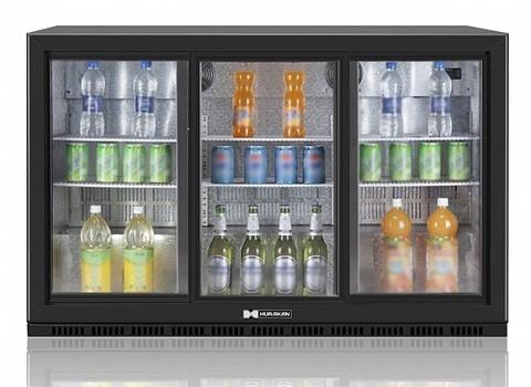 фото 1 Холодильный барный шкаф Hurakan HKN-DB335S на profcook.ru