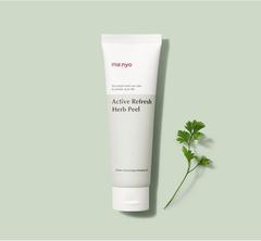 Энзимный травяной пилинг-скатка, 120 мл / Manyo Factory Active Refresh Herb Peel
