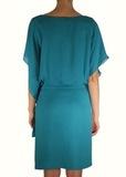 Платье из шелка ALBERTA FERRETTI
