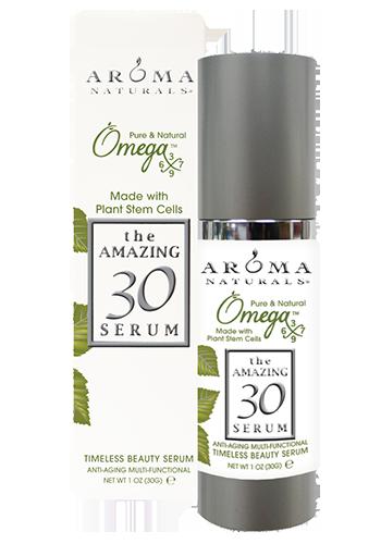 Омоложивающая  многофункциональная сыворотка с фитостволовыми клетками Amazing 30, Aroma Naturals