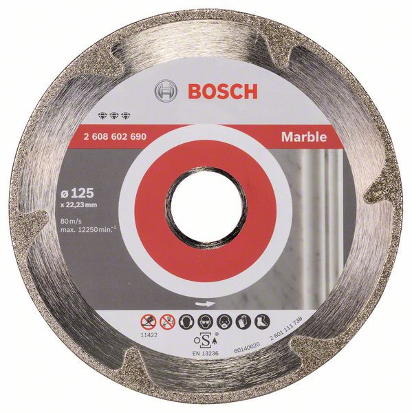Алмазный диск Best for Marble 125-22,23 Bosch 2608602690