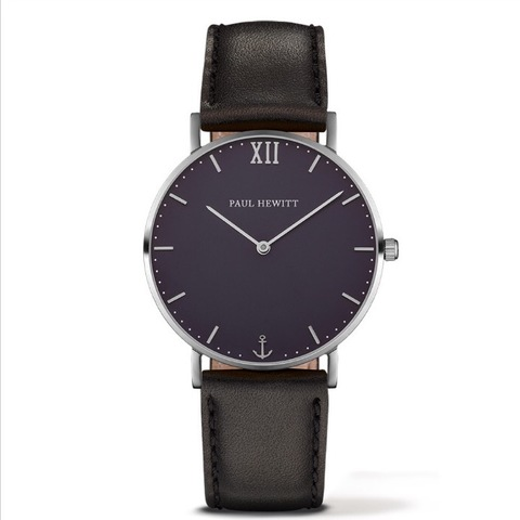 Sailor Line Silver Leather Black