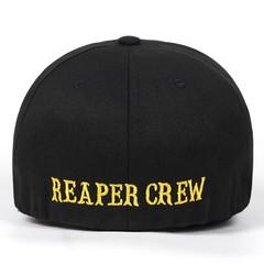 Кепка с золотой надписью  REAPER CREW (Бейсболка) черная