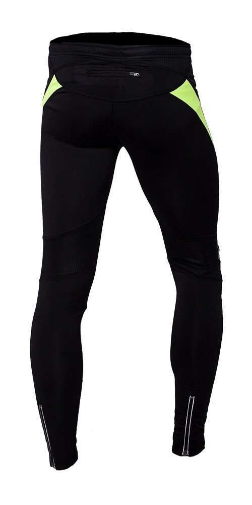 Мужские лосины для бега NordSki Premium (NSU150180) черные