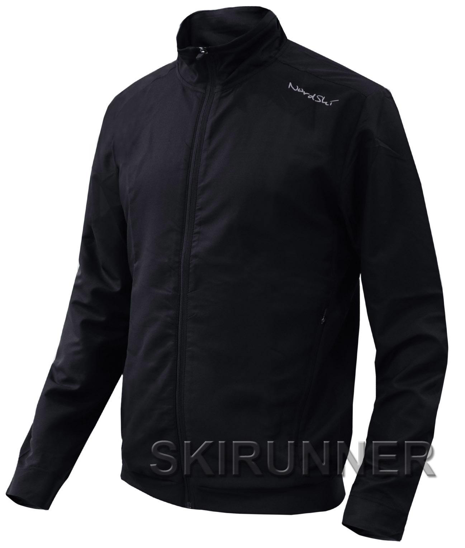 278891cb6d48 Беговая куртка Nordski Sport Black NSM278100 - Интернет Магазин SkiRunner
