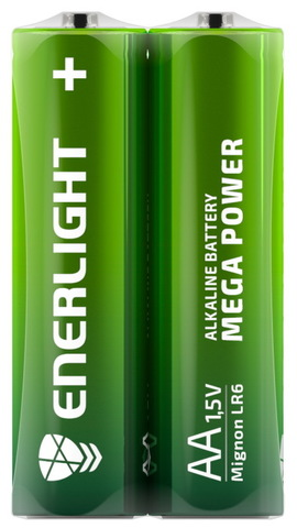 Батарейки Enerlight Mega Power LR6, AA (4/48)