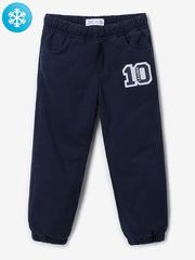 BWB000050 брюки для мальчиков утепленные, темно-синие