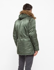 Парка Alpha Industries N-3B Slim Fit Sage Green (Зеленая)