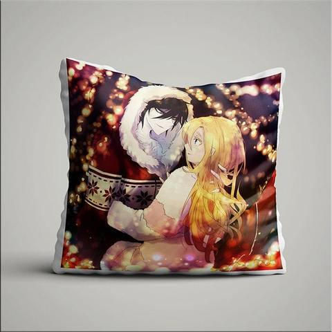 Подушка с Заком и Рей