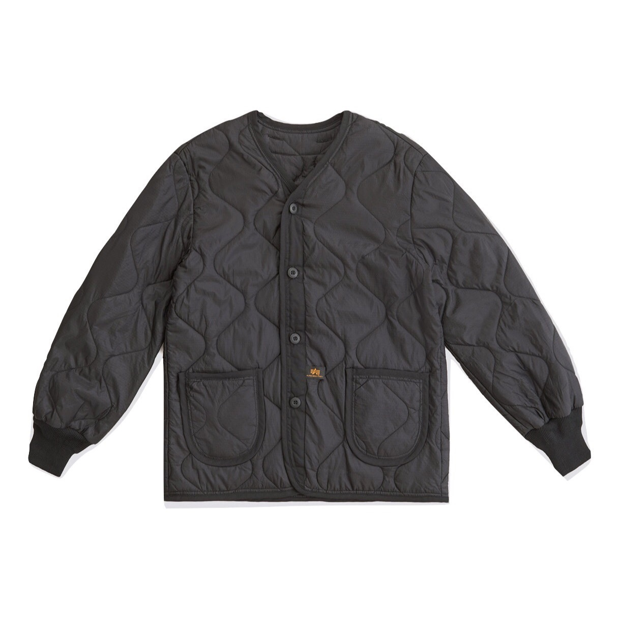 Подкладка для куртки Alpha Industries M-65 Black (черная)