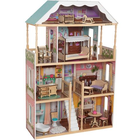 KidKraft: Кукольный домик Шарлотта 65956 — Charlotte Dollhouse — КидКрафт