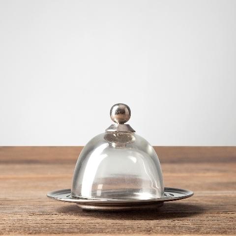 Чаша с крышкой 8,5х8,5х8 см Roomers Exstera