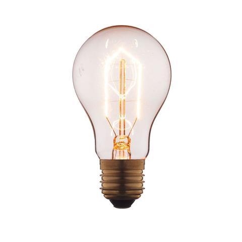 Лампа накаливания E27 60W груша прозрачная 1002