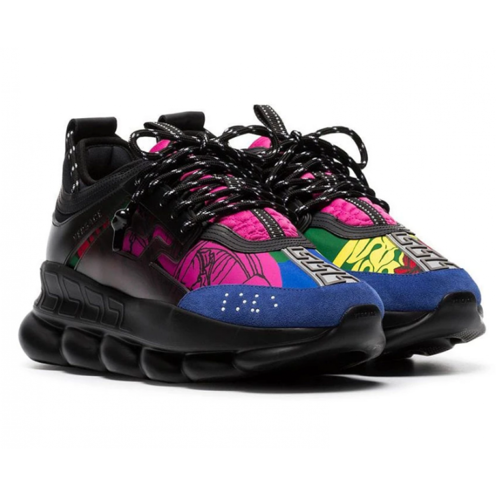 Versace Chain Reaction Black/Multicolor (014)