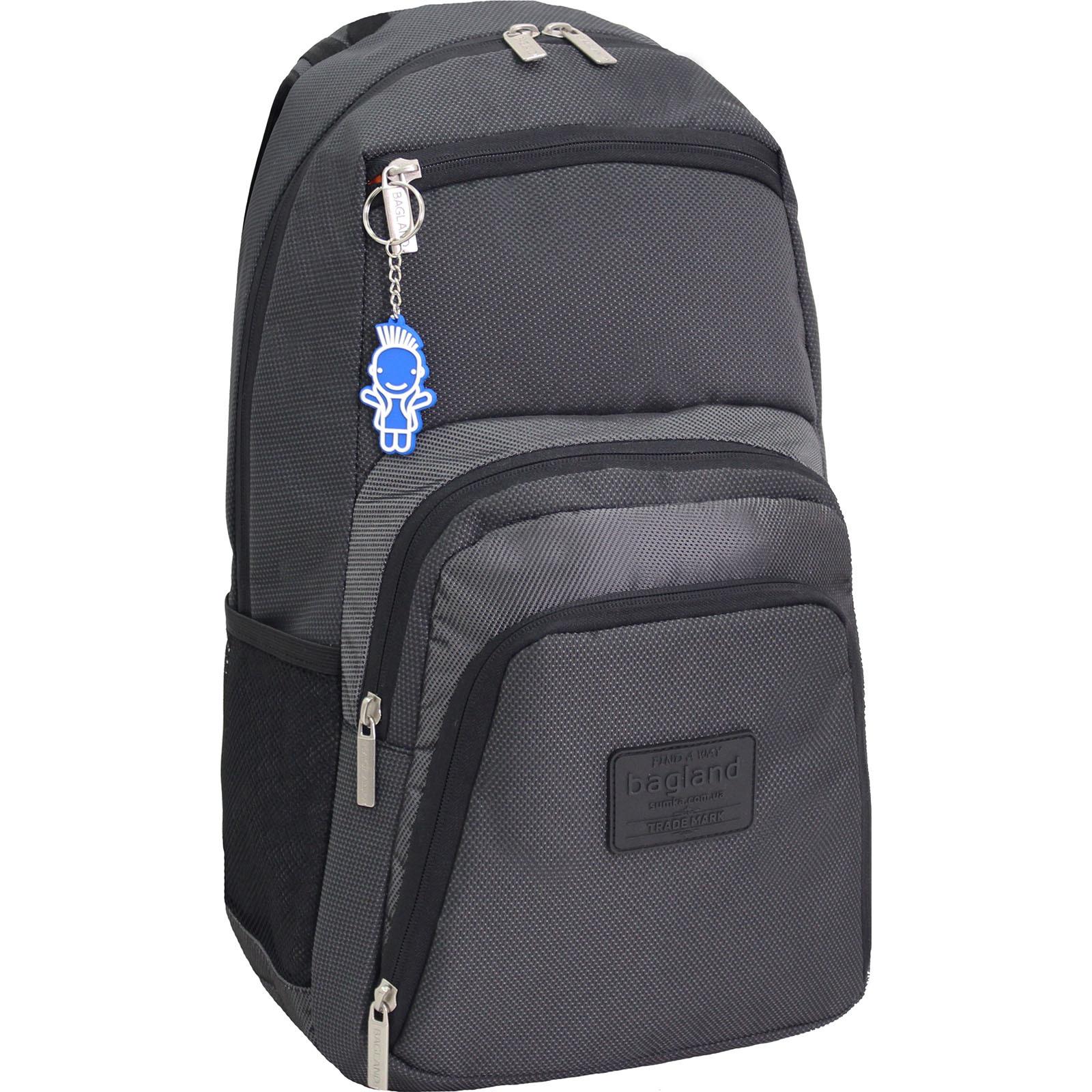 Рюкзаки для ноутбука Рюкзак для ноутбука Bagland Freestyle 21 л. черный /серебро (00119169) IMG_0576.JPG