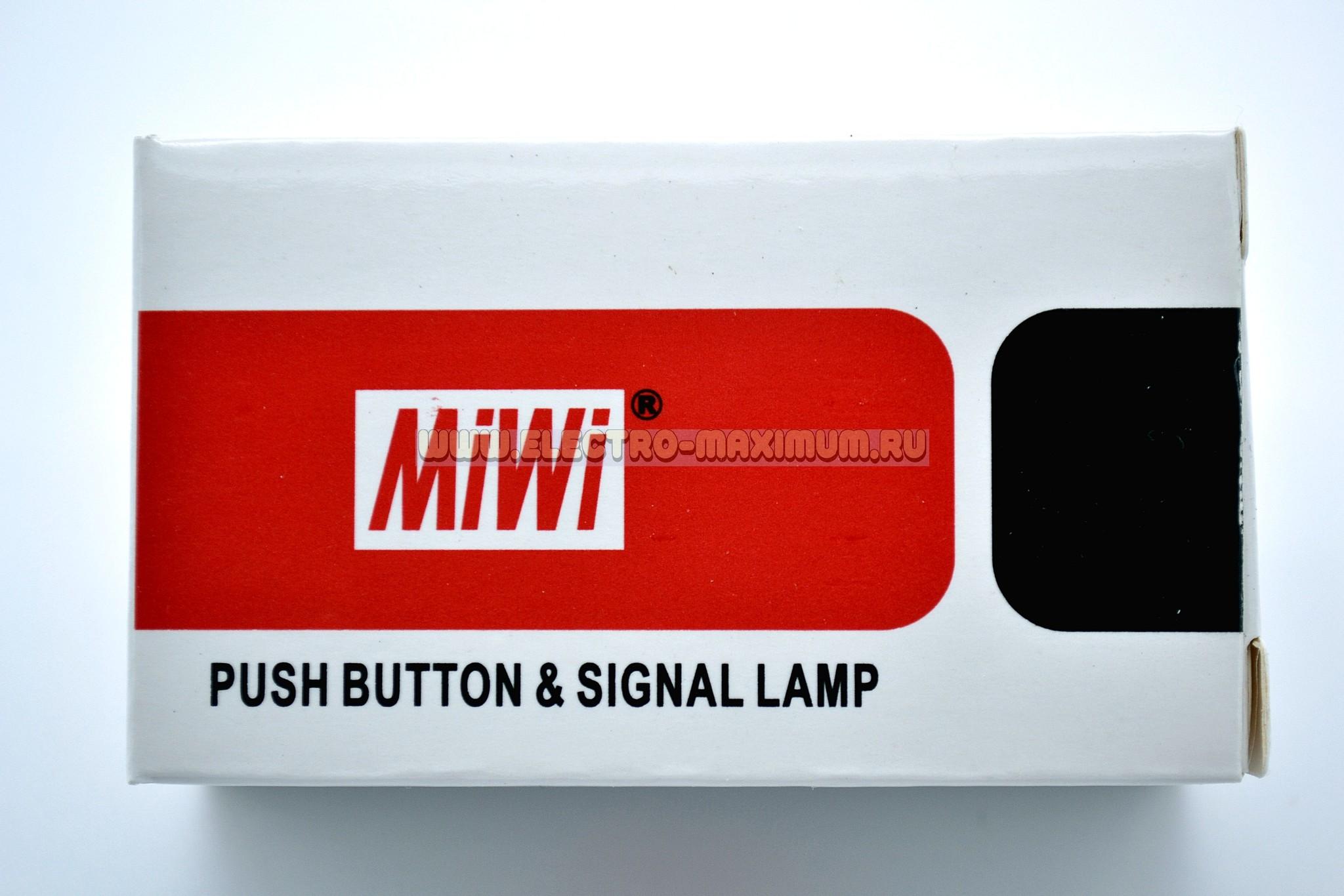 Переключатель с 2 фиксироваными положениями MIWI800-FS-XZDP47
