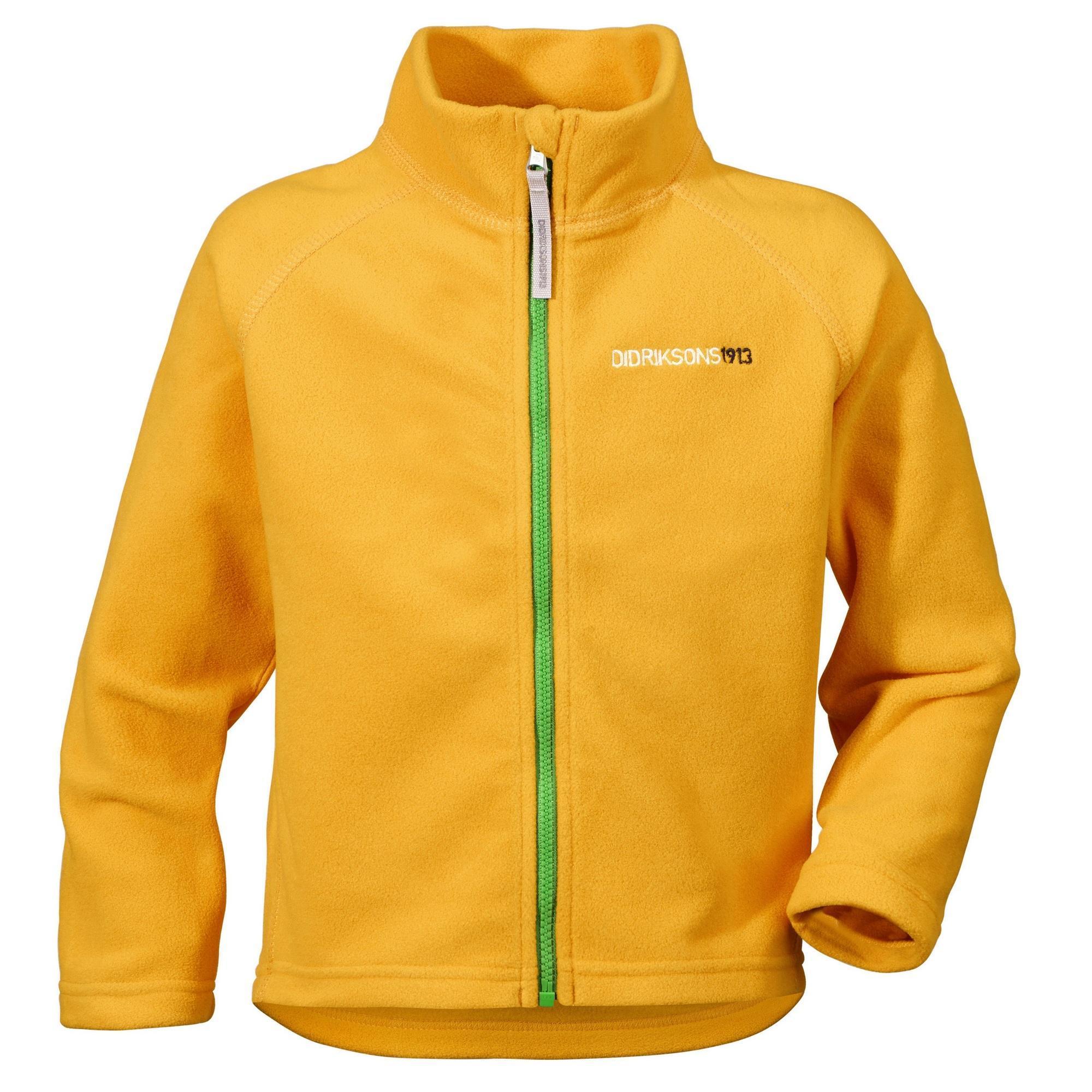 Куртка для детей Didriksons Monte kids - Mandarine (желтый)