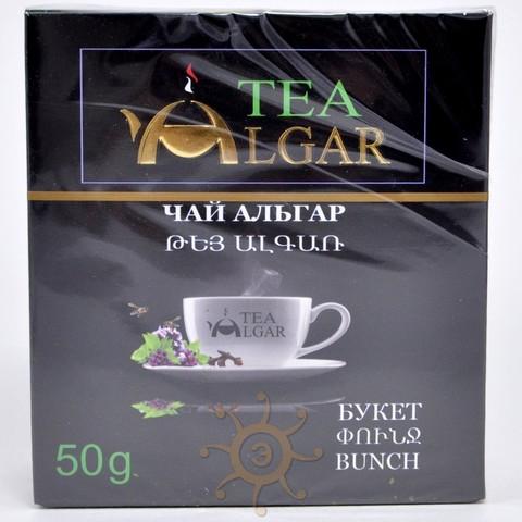 """Чай """"Букет"""" (чай черный, мята, чабрец) Альгар, 50г"""