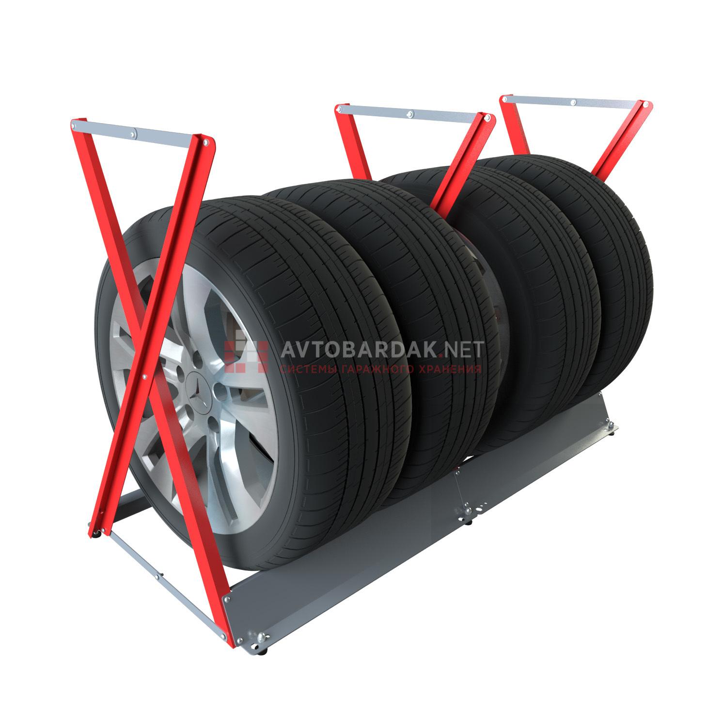 Увелич. стойка для колес горизонт. (до R22, 320 мм)