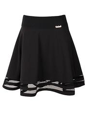 6628 юбка женская, черная