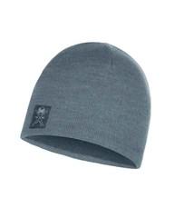 Вязаная шапка с флисовой подкладкой Buff Hat Knitted Polar Solid Grey