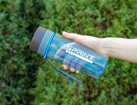 Бутылка POWCAN - 630 мл. SPRINT - Синий