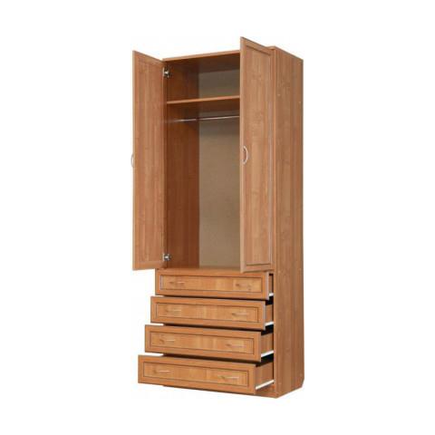 Шкаф для белья со штангой и ящиками (Гарун-103)