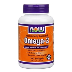 NOW	Omega-3 1000mg/100 softgels